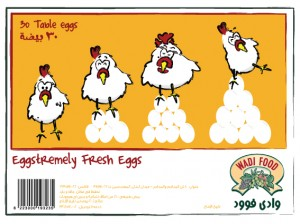 brown eggs packaging illustration and art direction